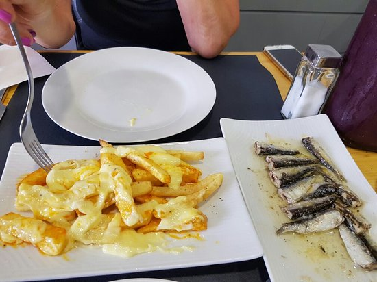 Casa Joana: Fish and chips