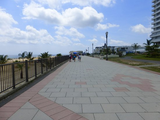 Looking at Pier Village from the beach. - Picture of Pier ...