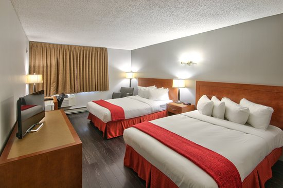 Howard Johnson Quebec City: Business 2 Double Beds