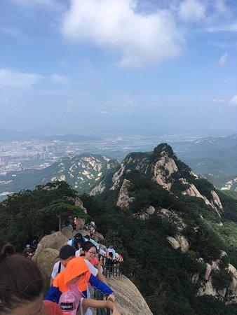 Fengcheng, Chine : Un coin qui vaut le détour nous avons passer environ 6 heures pour faire toute la partie ouest.