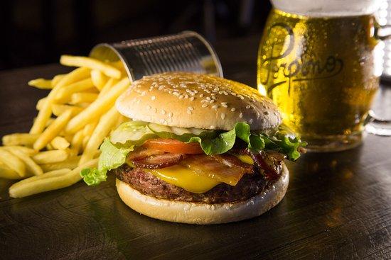 Excelente Restaurante Porpino Burger