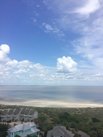Tybee Island Lighthouse Museum: view from the top