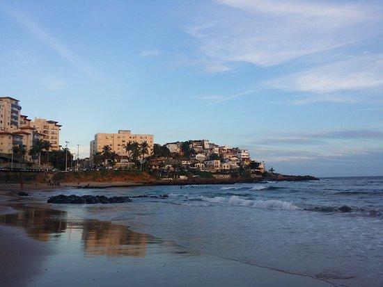 Encanto da Sereia : vu sur la pousada depuis la plage