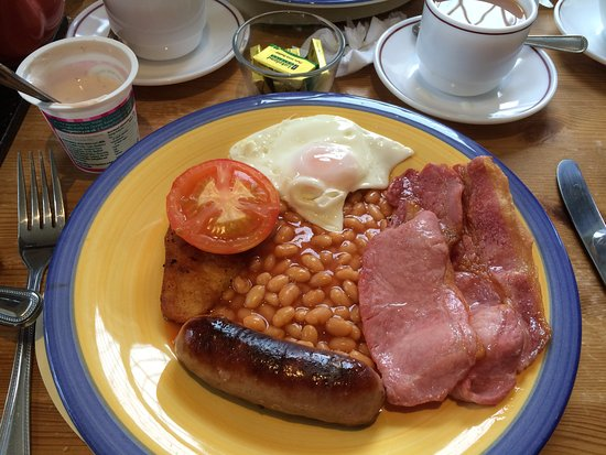 Llanddeiniolen, UK: Full English Breakfast
