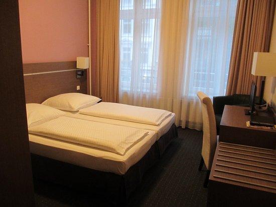 Hansehof Hotel: Das Zimmer