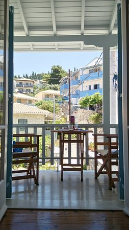 Elena Rooms: The balcony