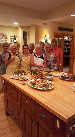 Savory Spoon Cooking School: Fun with friends