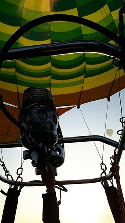 Tuscany Ballooning: We watched the sunrise on a beautiful day in Tuscany. A perfect treat.
