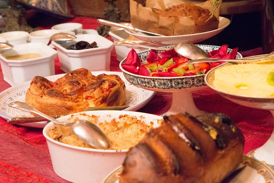 La Closeraie Chambres d'hotes : Un petit déjeuner avec des produits faits maison