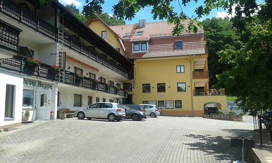 Dammbach, Niemcy: Wald Hotelzimmer Heppe