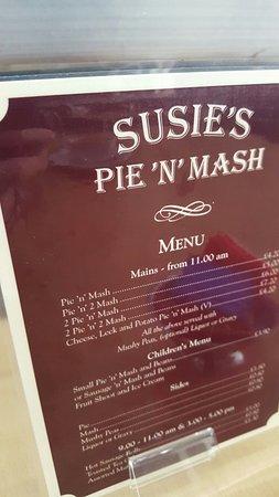 Susie's Pie 'N' Mash
