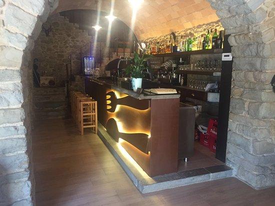 Restaurant La Garrotxa: Interior.