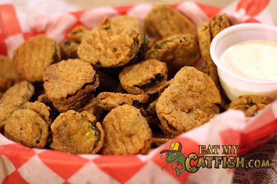 Benton, AR: Fried Pickles