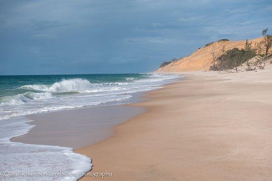 Beach along the Indian Ocean on Benguerra Island