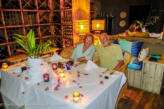 Benguerra Island, โมซัมบิก: Dining at Azura Benguerra