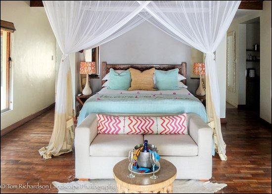 Benguerra Island, Mozambik: Our villa at Azura Benguerra