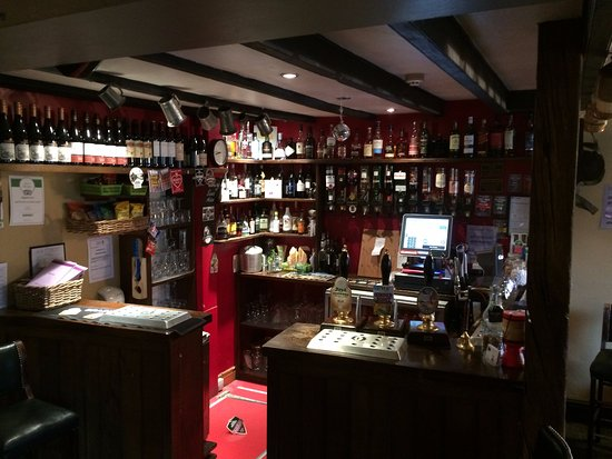 Appleton le Moors, UK: The bar!