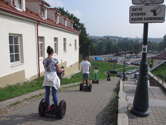 Super SEGWAY : Der Guide kennt die besten Wege durch Vilnius