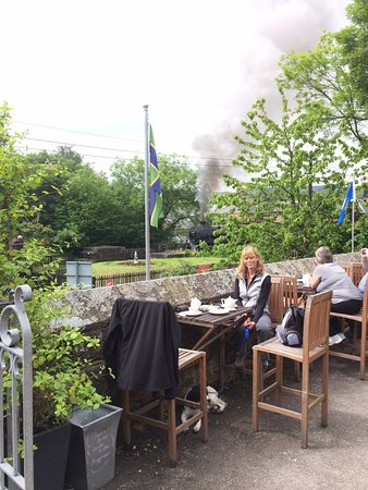 Grosmont, UK: The outdoor area