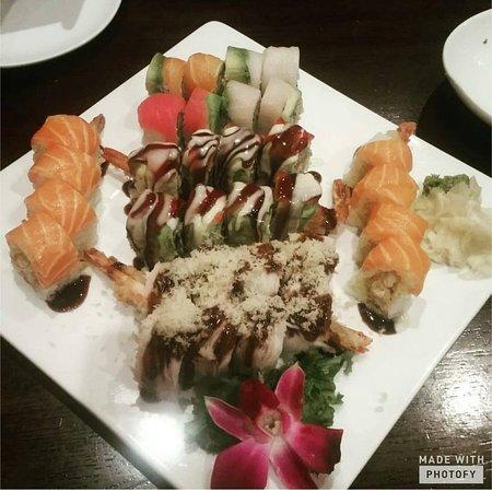Sake Asian Fusion: Sushi Dinner