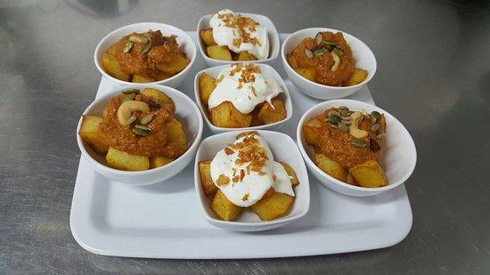 Restaurante boracay en garrucha con cocina mediterr nea - Tapas frias originales ...