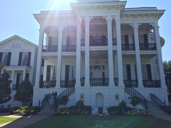 White Castle, Louisiane : the main house