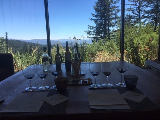 Angwin, Kalifornia: Living Room tasting view