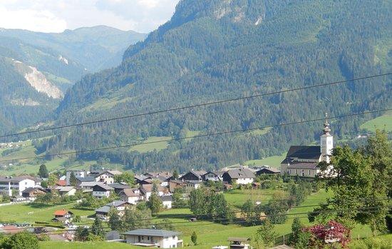 Landhaus Empl : Ausblick vom Panorama DZ