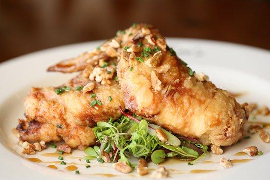San Clemente, CA: Crawfish Stuffed Chicken Wings