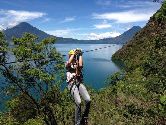 Hotel Reserva Natural Atitlan: Cables Ultra X-Tremos