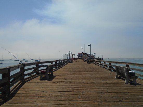 Capitola City Beach: Fishing Pier on Capitola Beach