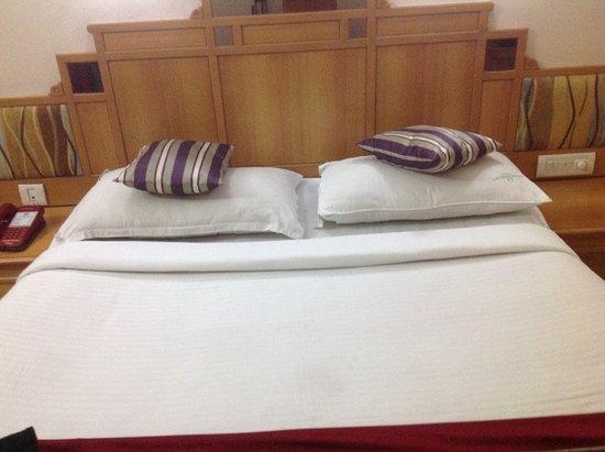 Kalyan Residency : The bed was OK