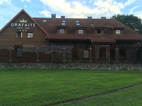 Ginkunai, ليتوانيا: Stanza, esterno e pranzo al ristorante