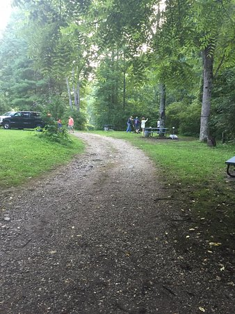 Topton, Carolina del Norte: Camping area