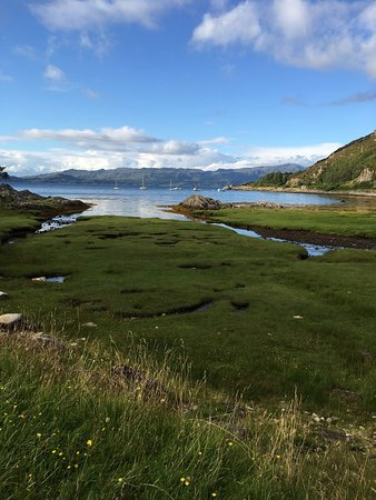 Glenuig, UK: Delicious food and stunning views