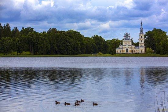 Stameriena, Látvia: Церковь Св. Александра Невского