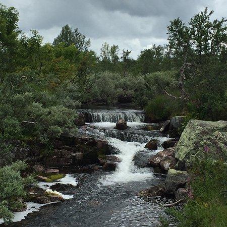 Alvdalen, Suecia: Vattenfallet ovanifrån