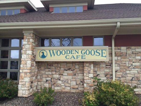 เมกกวาน, วิสคอนซิน: Wooden Goose Cafe