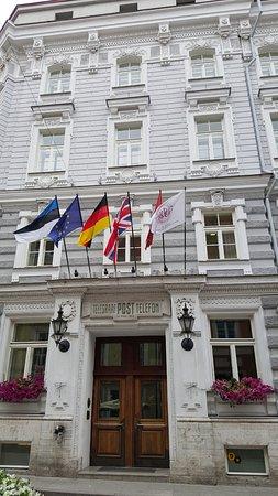 Exterior oh Hotel Telegraaf