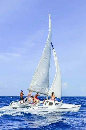new horizon catamaran tour playa del carmen mexico beoordelingen. Black Bedroom Furniture Sets. Home Design Ideas