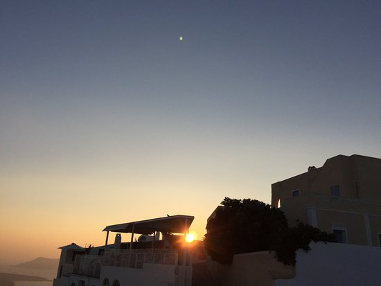 Aria Suites: The sunsets