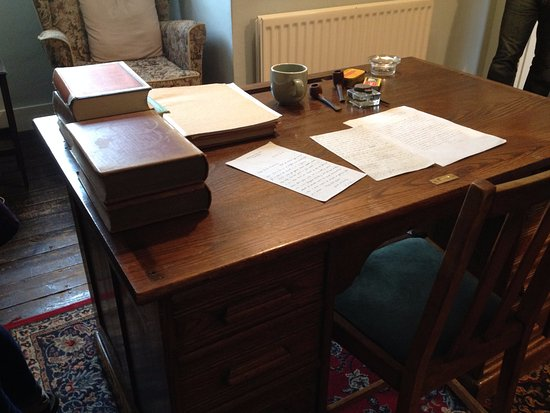 C. S. Lewis House: C.S. Lewis's office (furniture is a period replacement)
