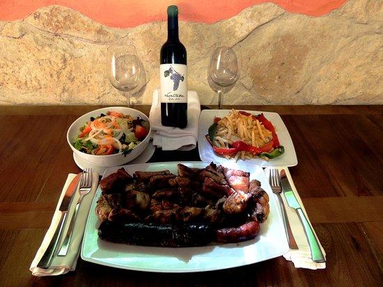 Menú Degustación De Carnes A La Brasa 34 2 Personas Picture Of El Rincon De Las Hoces Burgomillodo Tripadvisor