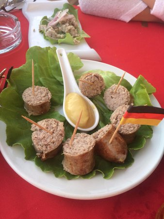 Il-Gzejjer Bar & Restaurant: Wurst