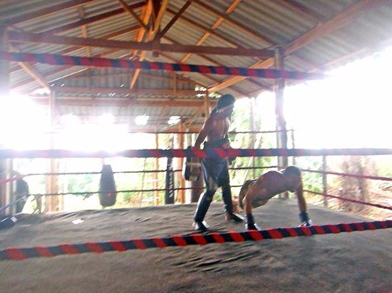 Khuraburi, Thailand: private training for fight