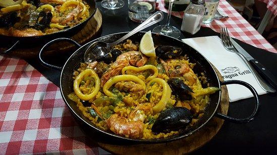 Fragua Grill: paella