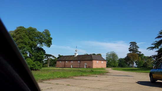The Stables at Henham Park: Back view of The Stables
