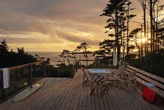 Amazing Pacific Sands Beach Resort: Sunset House   Patio