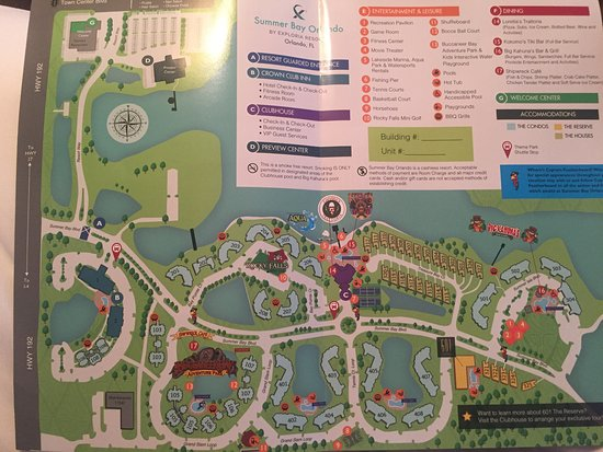 Summer Bay Resort Orlando Map Breakfast   help yourself with plactic knives and forks   Picture