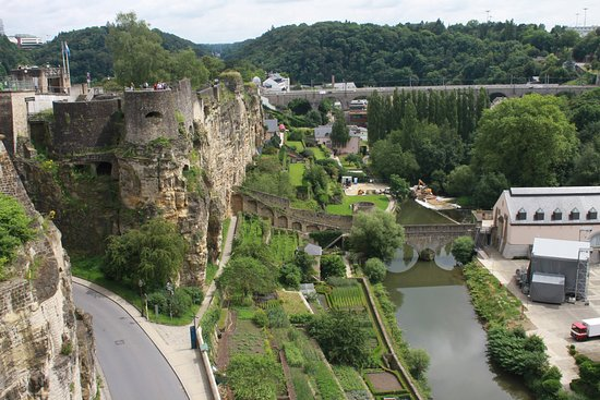 Mersch, Luxembourg: Besøg i Luxembourg